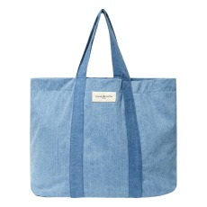 product-Rive Droite Marcel bag in upcycled denim