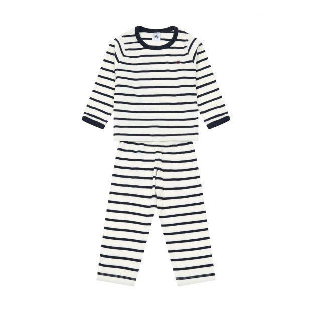 2e166c921bff7 Pyjama Truffle Bleu marine Petit Bateau Mode Enfant