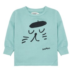 product-Bobo Choses Exclusive Bobo Choses x Smallable x Isetan - Cat Sweatshirt