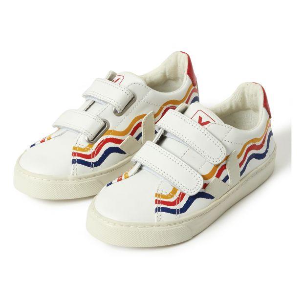2e9223e3e035 Esplar Trainers - Veja x Hundred Pieces - White Veja Shoes Baby