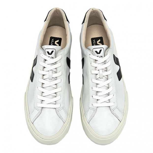 71e2b6a0124 Esplar Leather Trainers - Women's Collection Black Veja Shoes