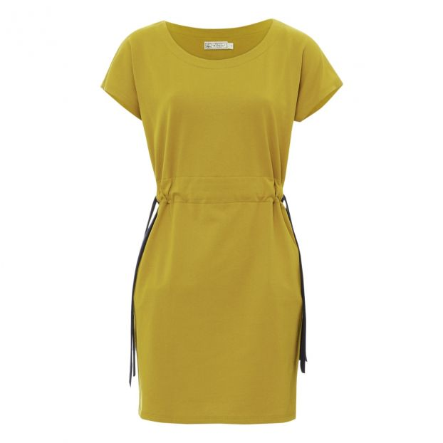 Bateau Jaune Moutarde Mode Femme Bressi Collection Robe Petit ED29HI
