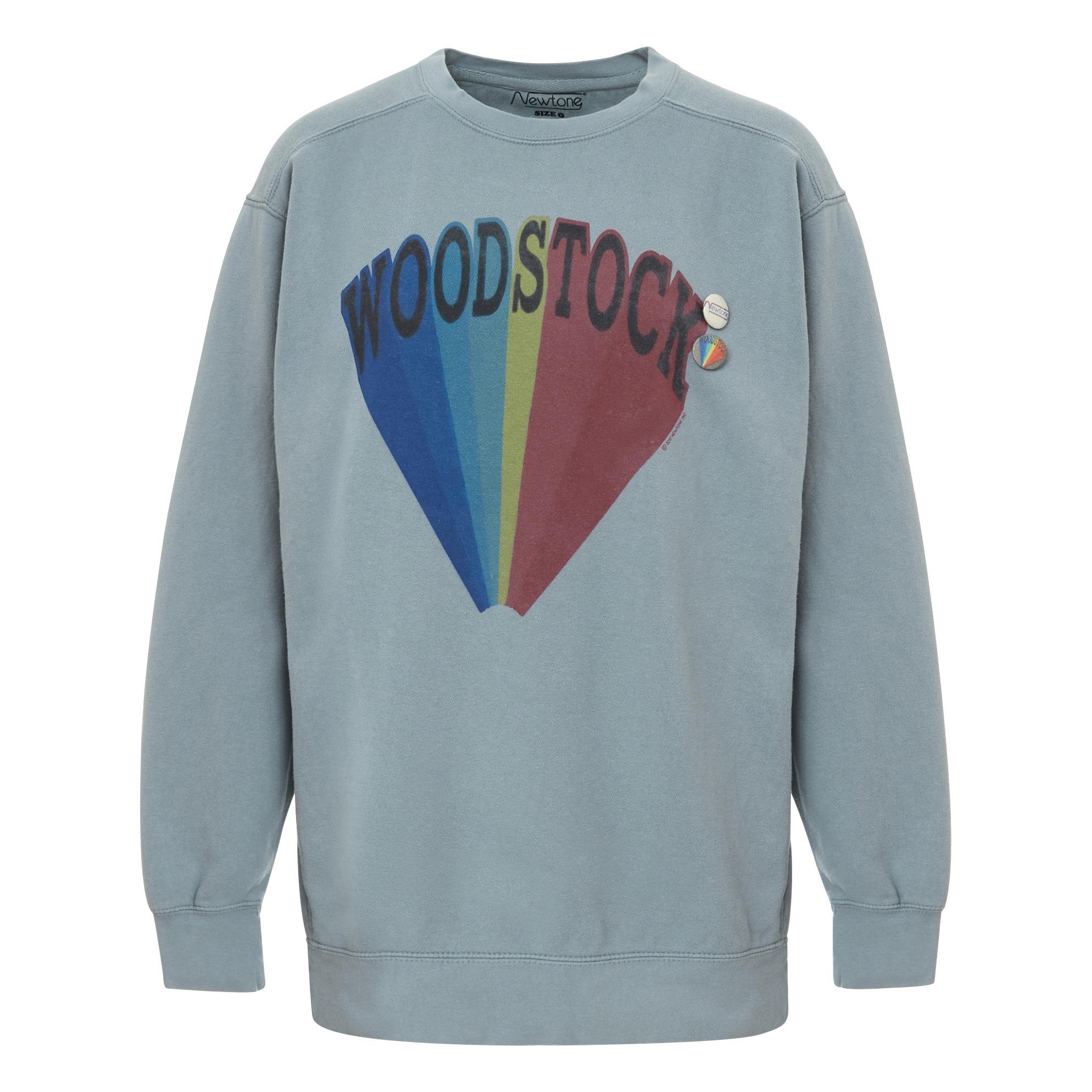 f17e995d7b Woodstock Sweatshirt Light grey Newtone Fashion Adult