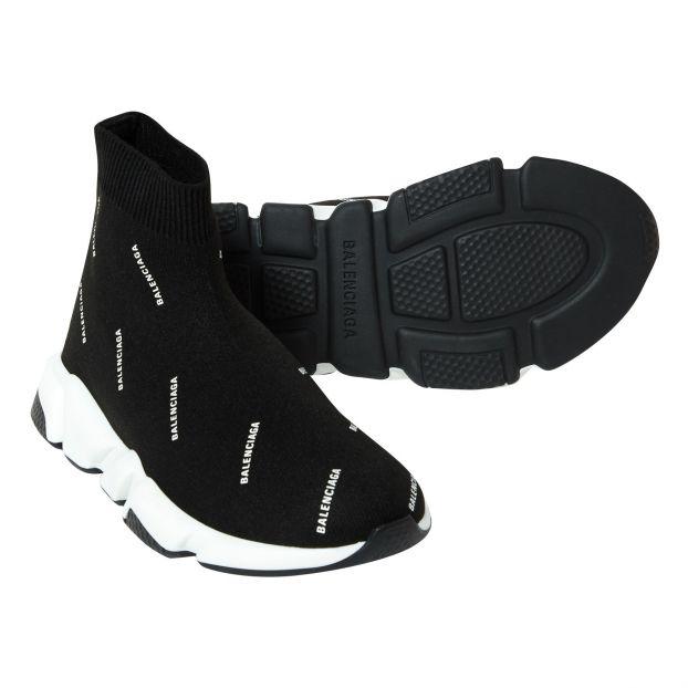Speed sneakers in bonded jersey