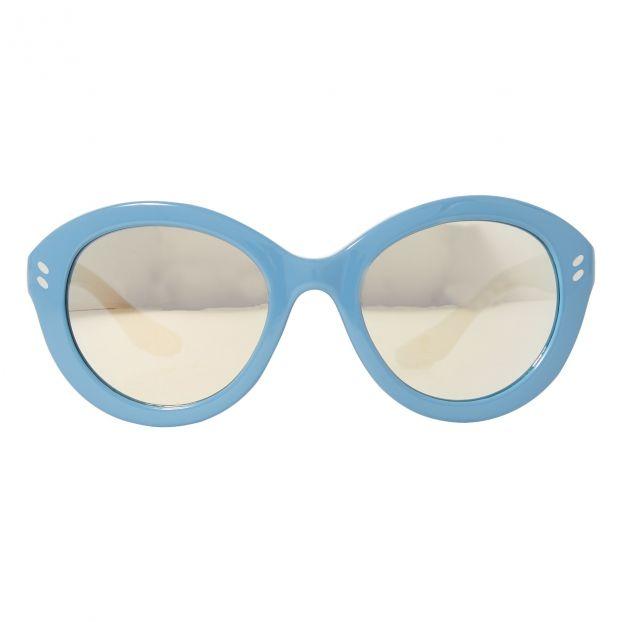 07d2537720be7 Lunettes Rondes Bleu ciel Stella McCartney Kids Mode Enfant