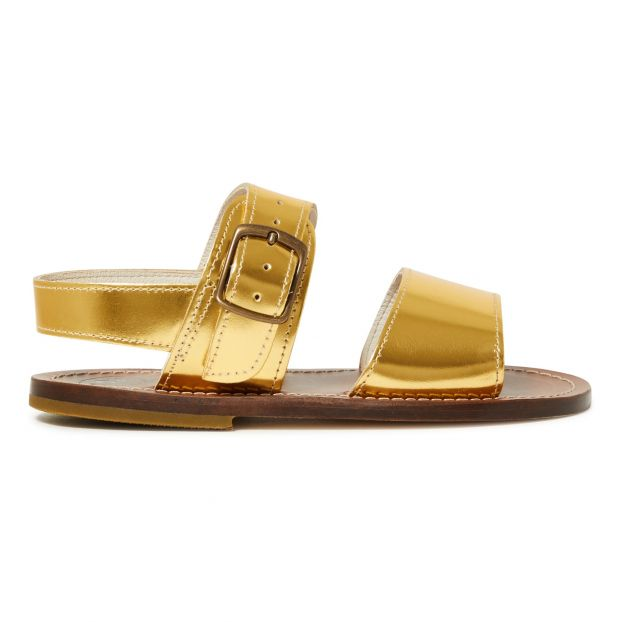 9502267a859 Buckle sandals Gold Pèpè Shoes Teen , Children