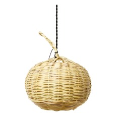 product-Cosydar Ball pendant light in wicker