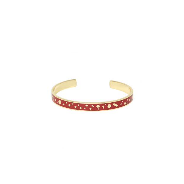 6019acbabbc02 Lucy adjustable bangle Red