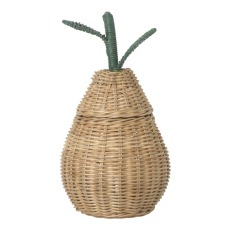 product-Ferm Living Kids Pear woven basket