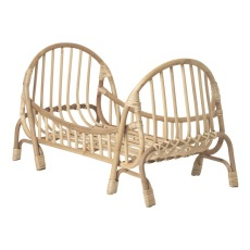 product-Ferm Living Kids Rattan doll bed