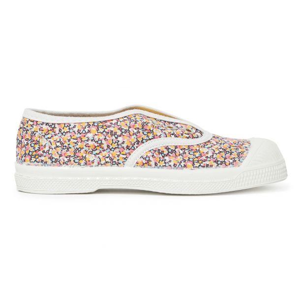 184cab673bb266 Elly ditsy plimsolls Multicoloured Bensimon Shoes Children