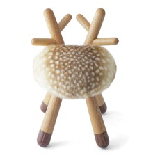 product-EO Bambi Chair in Oak and walnut by Takeshi Sawada