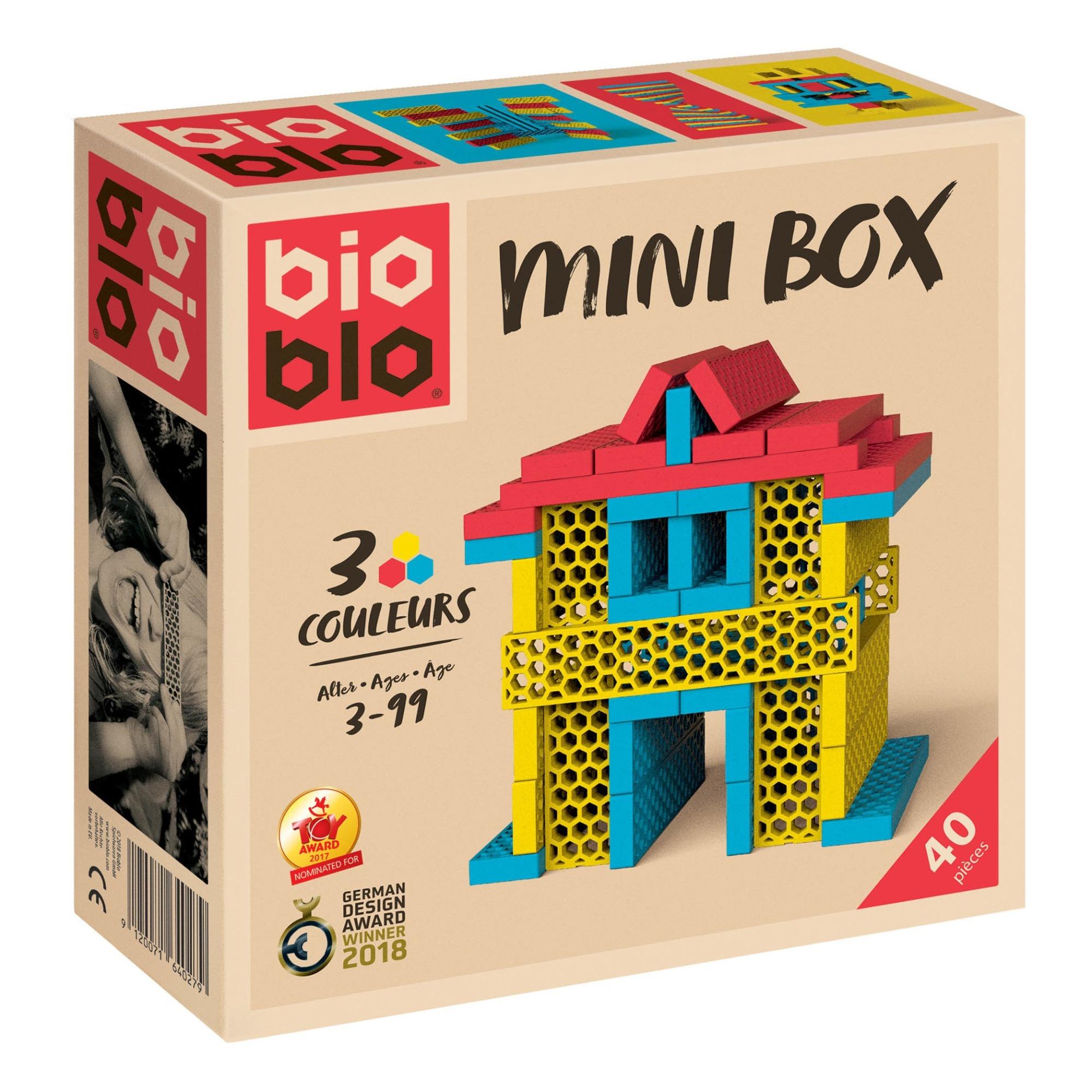 Jeu de construction Minibox - Set de 40 pièces
