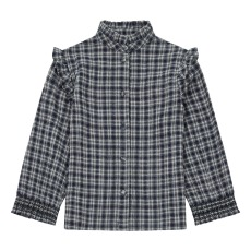 product-the new society Bella Ruffled Shirt