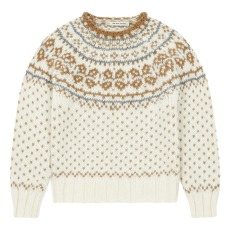 product-the new society Jacquard Wool Jumper