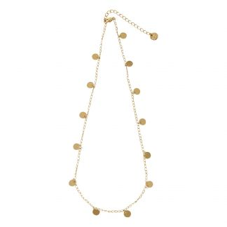 Uttica Necklace Gold Titlee Fashion Adult