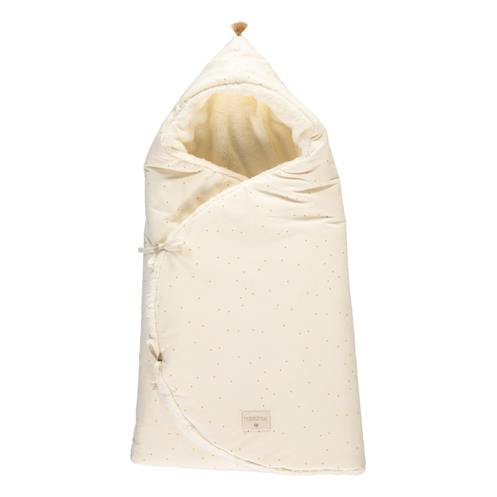 7938eee92f6 Cozy - Organic cotton baby wrap with polar fleece lining. «