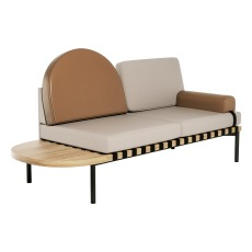product-Petite friture Banqueta Daybed Grid