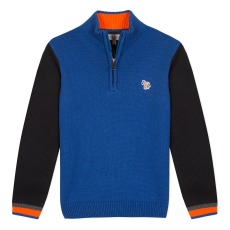 product-Paul Smith Junior Pull Col Camionneur Zèbre