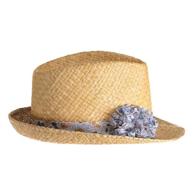 b1e91a17901 Straw hat with pom-pom Obi Obi Fashion Children