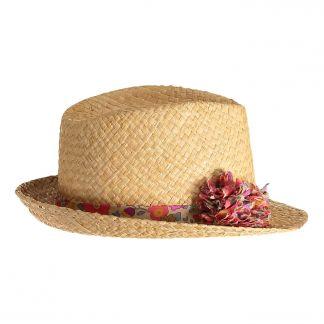 eff7e5dc Sombrero de paja pompón
