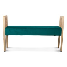 product-Smallable Home Cane and velvet bench