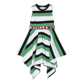 c3f20f75614 Stella McCartney Kids Striped organic cotton dress-listing