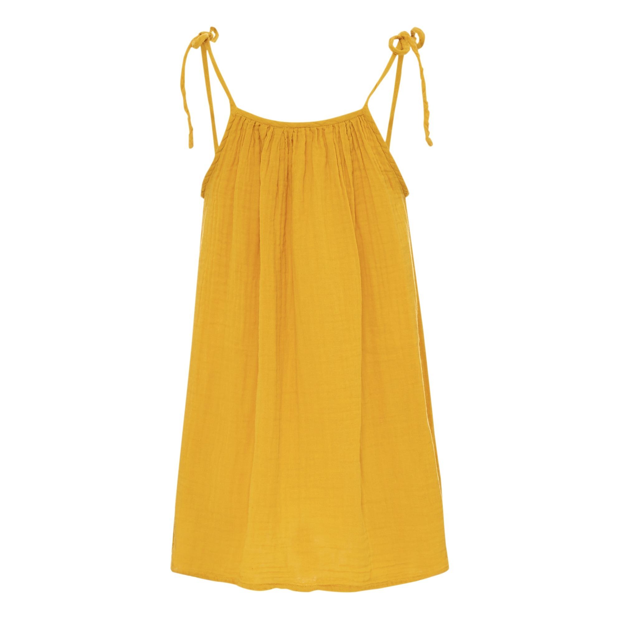 Kurzes Kleid Mia Damenkollektion Gelb Numero 74 Mode ...