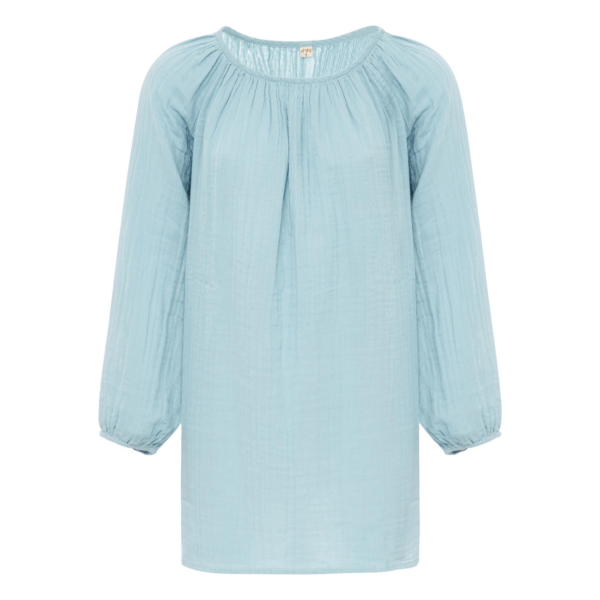 Kurzes Kleid Nina-Teenie-Damenkollektion Hellblau Numero ...