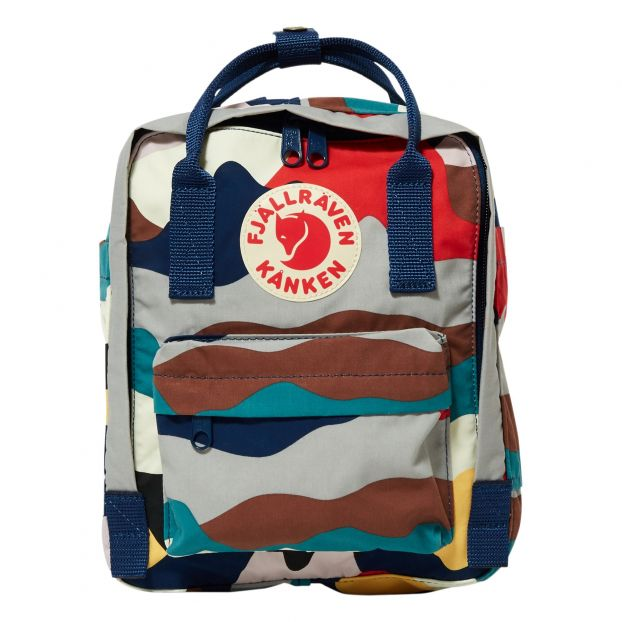 8820718d979 Kanken Art Mini backpack Blue Fjallraven Fashion Teen , Children