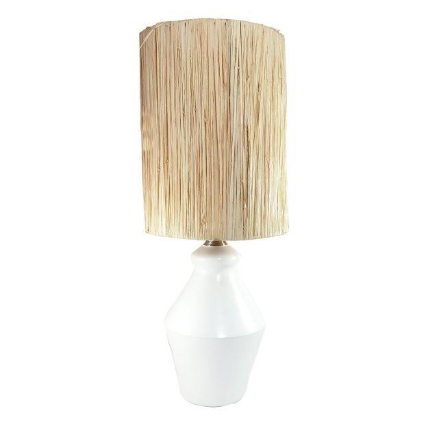 Lampe Tadelakt Blanc