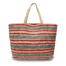 product-Vanessa Bruno Raphia Medium+ Tote
