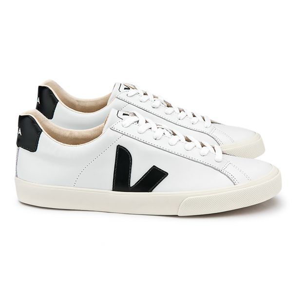 4a11bf3e61c Esplar Leather Trainers - Women's Collection Black