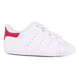 super popular 9742e 310fd Adidas Chaussons Lacets Cuir Stan Smith Crib-product